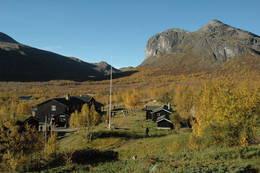 Gjendebu en vakker høstdag - Foto: Sverre A. Larssen