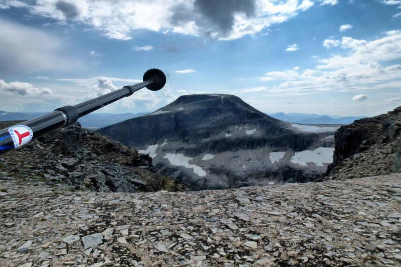 På ekstremturen over Trollhetta, mellom Jøldalshytta og Trollheimshytta.