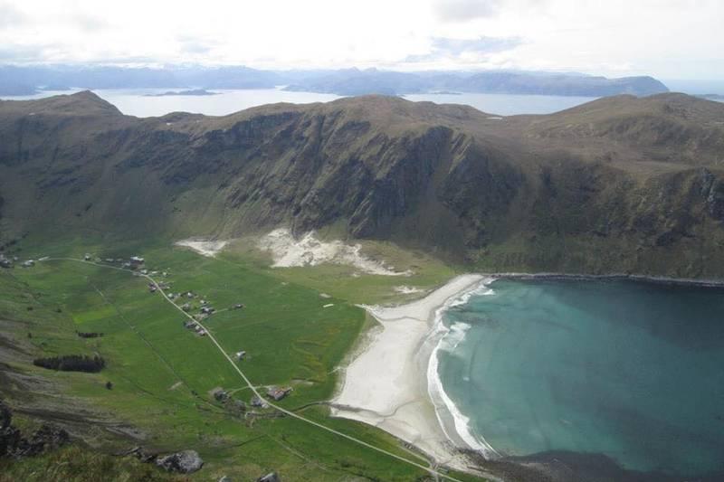 Utsikt til Hoddevik