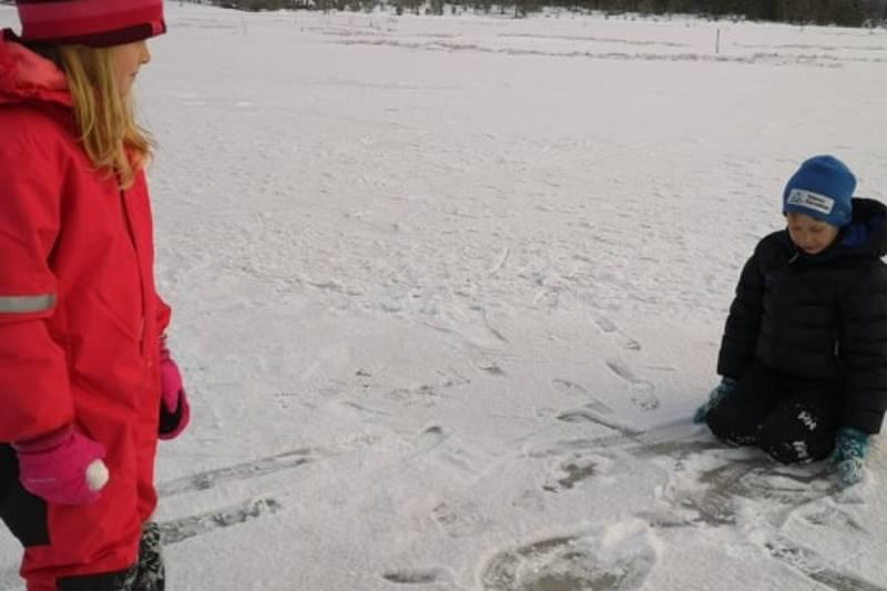 leik på isen