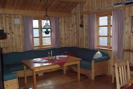Sofakroken på Fivla - Foto: Luster Turlag
