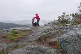 Hetlebakksåta utsikt mot Veten og Høgstefjellet -  Foto: Rita Mathisen