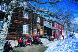 Gjevilvasshytta - Foto: Trondhjems Turistforening