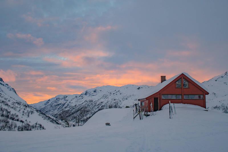 Blåfjellenden vinter