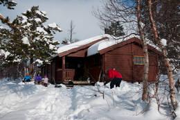 Skikkelig vinter ved Lønsstua - Foto: Stig Harald Rasmussen