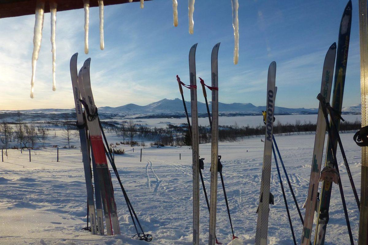 Storerikvollen og området rundt er perfekt for skiturer.