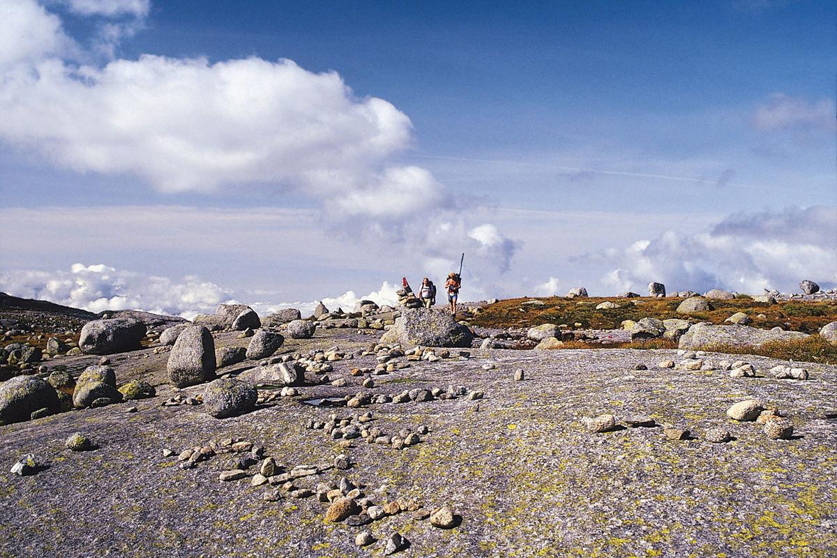 Klinkehorten er et flatt grunnfjellsparti som ligger mellom Stakken og Viglesdalen