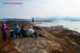 Utsikt over Skutvik -  Foto: Kjell Fredriksen