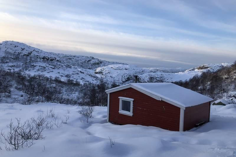 Gamle Skåpet vinter