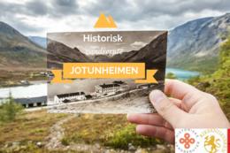 HISTORISK GRUNN: Vandreruta gjennom Jotunheimen er også en vandring gjennom nyere norsk fjellhistorie. -  Foto: Thor Håkon Ulstad/Fjellfilmfestivalen
