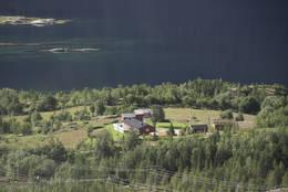 Turen er beskrevet ved start fra kommende infotavle like ved Tømmernes gård - Foto: Kjell Fredriksen