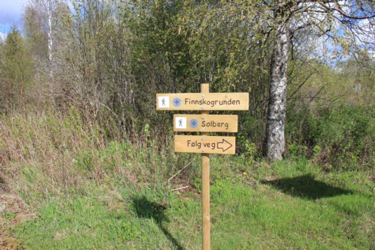 Merking av ruta, Austmarka