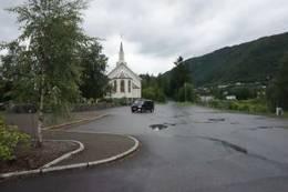 Utgangspunkt Ørskog kyrkje - Foto: Bodil Dybevoll
