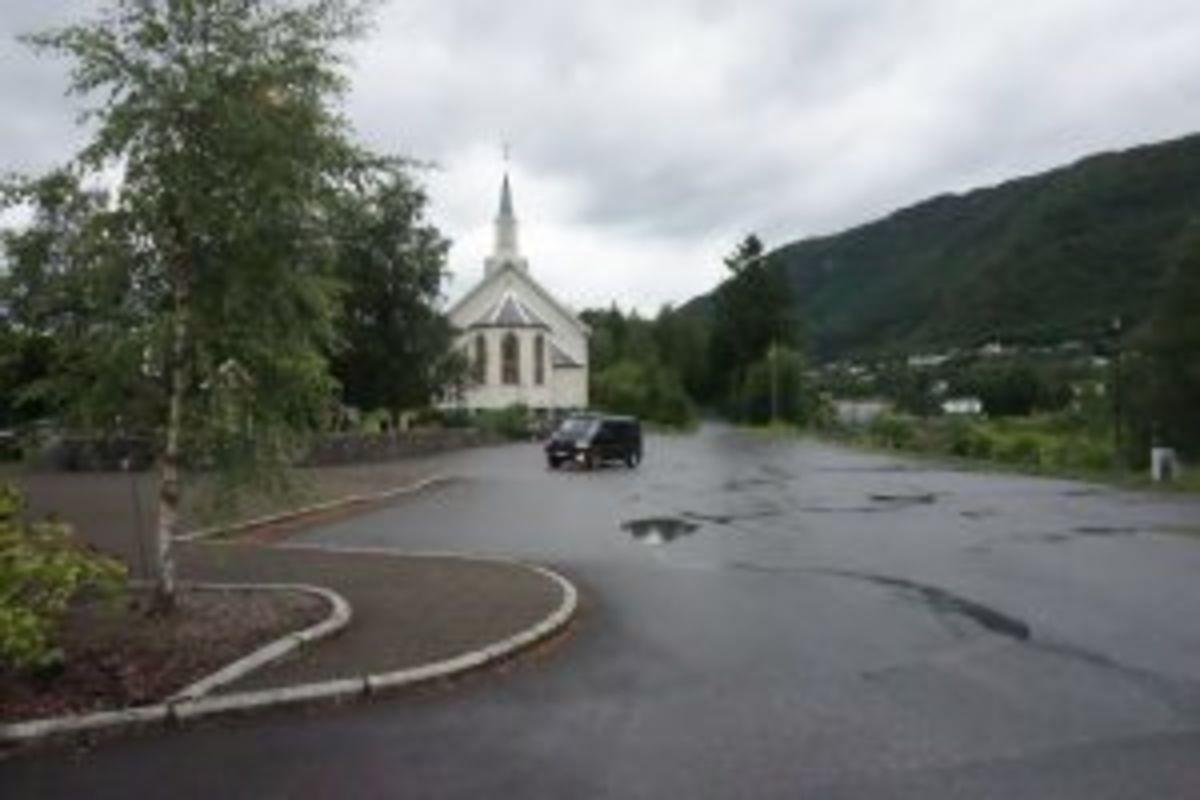 Utgangspunkt Ørskog kyrkje