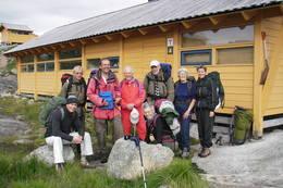 Fellestur til Storsteinen - Foto: Kjell Sandåker