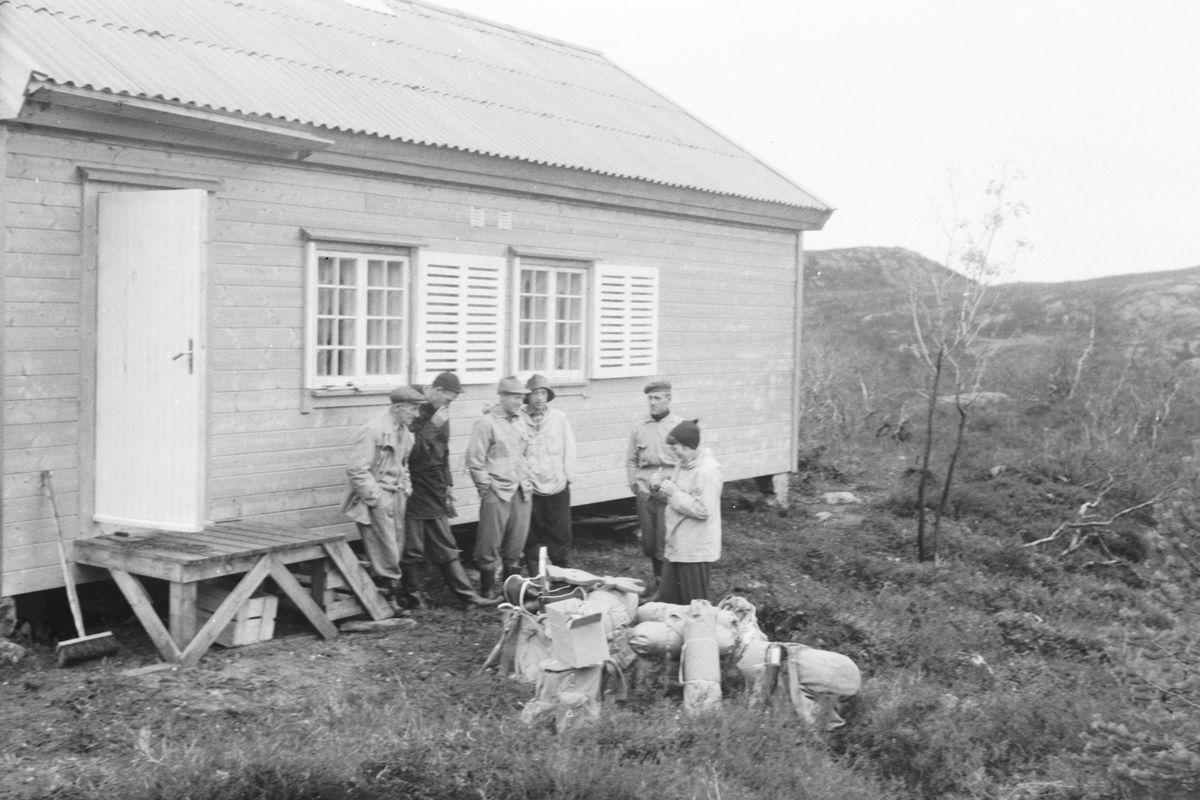 Hovstøyl ferdig høsten 1958
