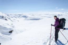 Ypperlig skiterreng - Foto: Ståle Freyer