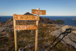 Toppen av Blåfjellet - Foto: Svein-Magne Tunli