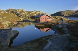 Børsteinen turisthytte -  Foto: Odd Inge Worsøe