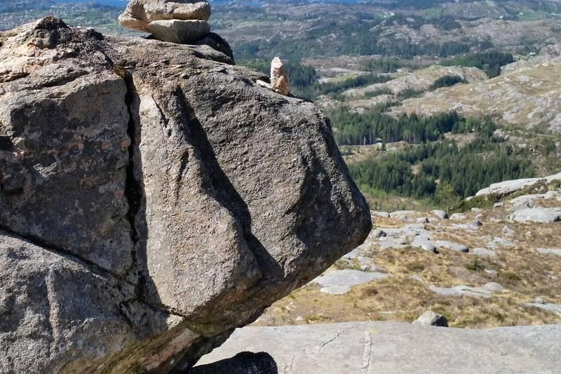 Artig plassering av stein