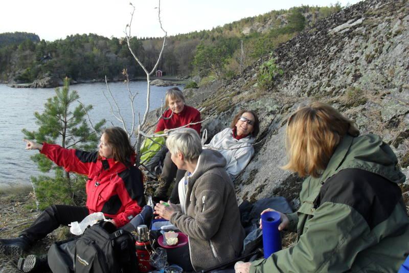 Kyststien Helgeroa - Barkvika