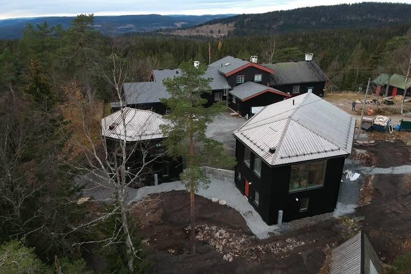 Høsten 2019 bygges det nytt sovehus på Kobberhaughytta.