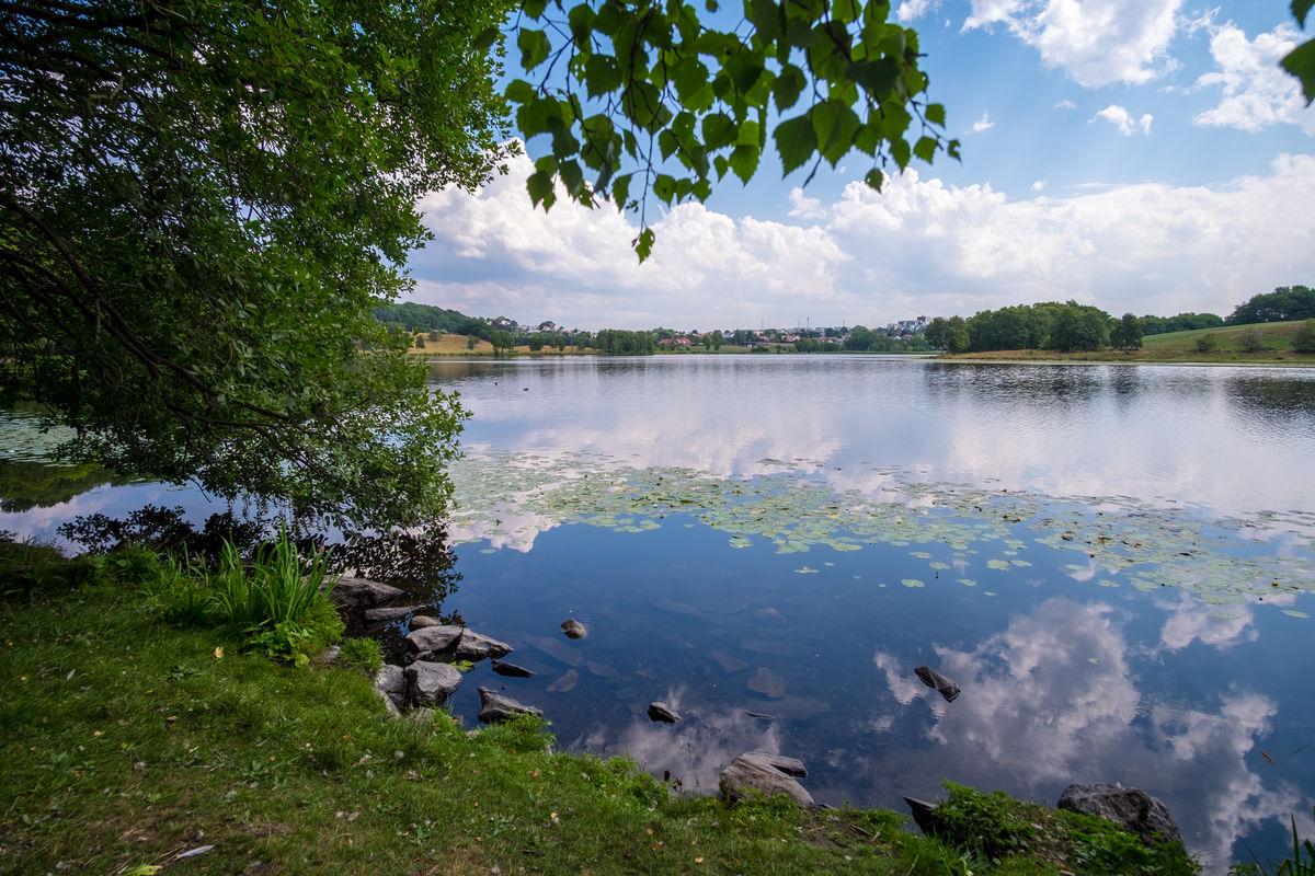 Sommeridyll ved Litle Stokkavatn.
