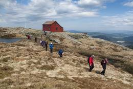 Vikinghytta -  Foto: Helge Sunde