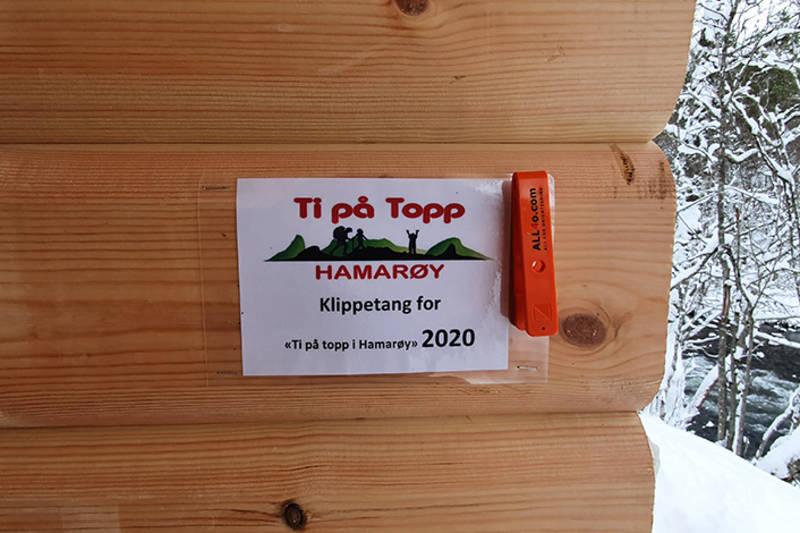 """Klippetanga for """"Ti på topp"""""""
