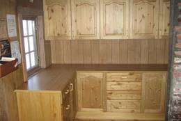 Kjøkkenet på Trollvassbu er nytt og fint.  - Foto: ukjent