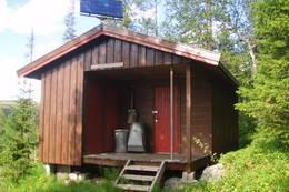 Annekset på Skjækerdalshytta  - Foto: Nord-Trøndelag Turistforening