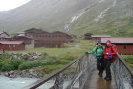 Framme ved Spiterstulen - Foto: Flekkefjord og Oplands Turistforening