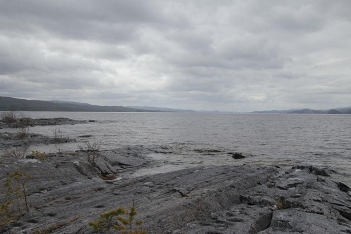 Utsikt over Snåsavatnet