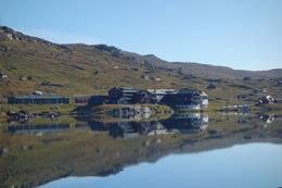 Utsikt mot Finse - Foto: