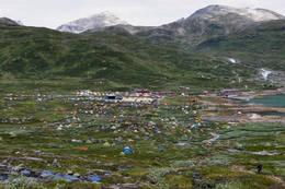 Fondsbu, Eidsbugarden og Vinjerock. Juli -10 - Foto: Karina Tesaker