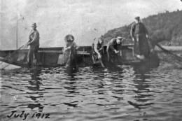 Garnfiske i Frebergsviken - Foto: Privat arkivbilde