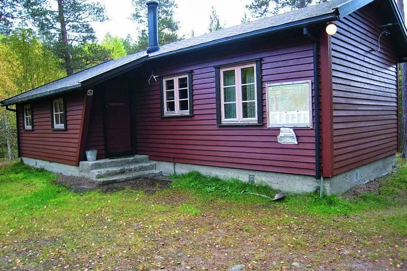 Hovedhytta ble bygget i 1968. Vebjørn Tandberg (mannen bak Tandberg radio) bidro med en stor pengegave.