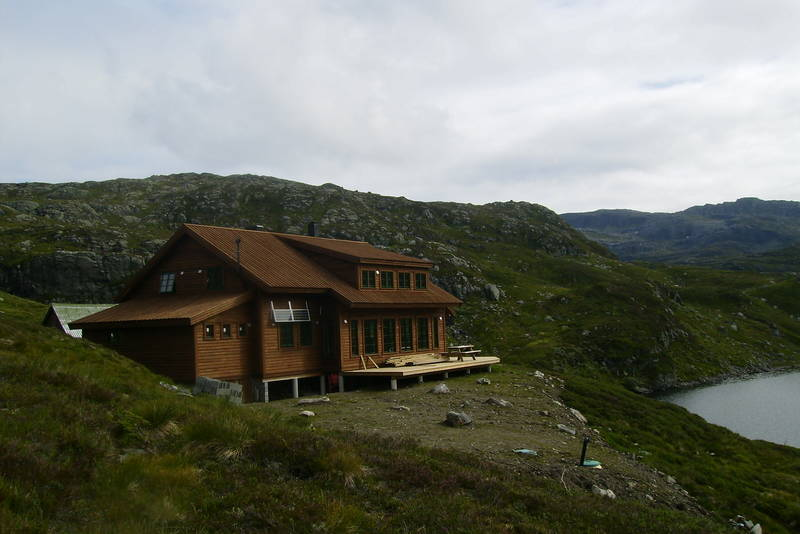 Den nye Sandvasshytta, Etnefjella 2010