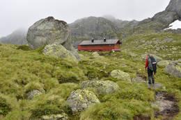 Langavatn turisthytte -  Foto: Odd Inge Worsøe