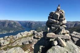 Toppen -  Foto: Lars-Martin Bøe