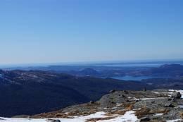 Utsikt frå Gråhorgja -  Foto: Ingrid Johannessen