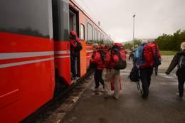 Hjerkinn jernbanestasjon - Foto: Ida Amelie Helgesen