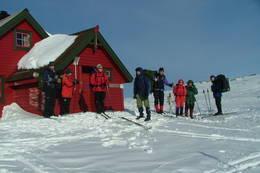 Skitur til Skavlabu i mars. - Foto: Bjørn-Olav Hagesether