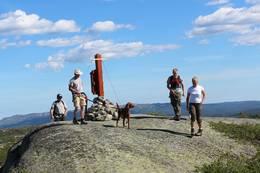 Toppen av Jåmsfjell -  Foto: Grethe Lassemo