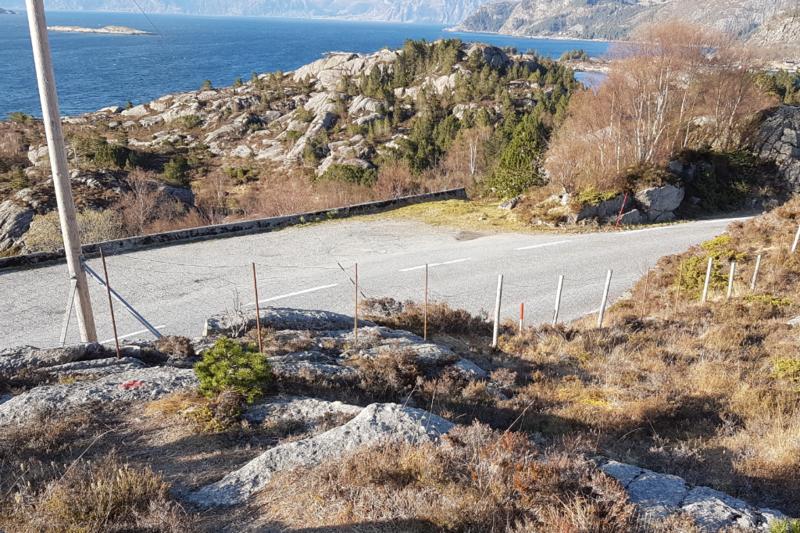 Utsikten med begrenset parkering