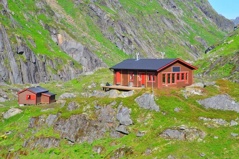 Store Trollfjordhytta – ferdig august 2018 - Foto: Trond Løkke