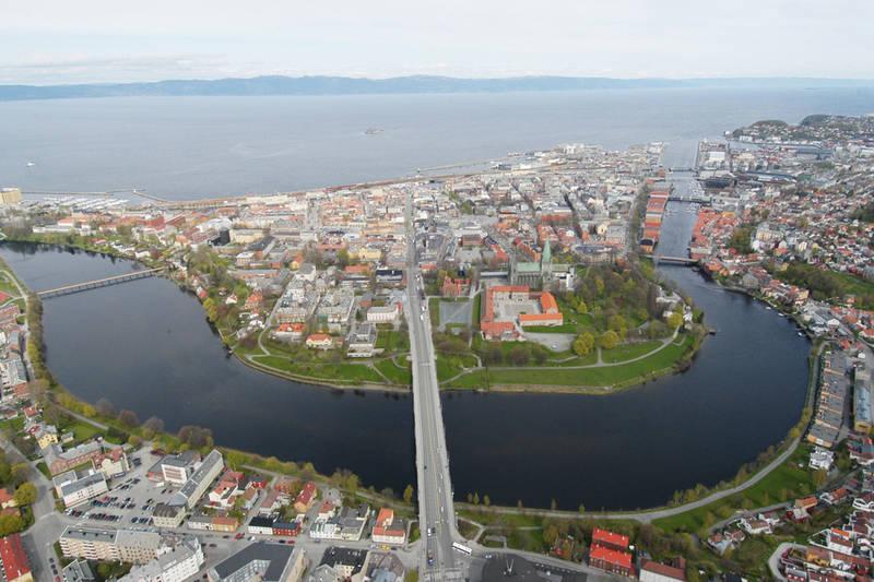 Trondheim sentrum