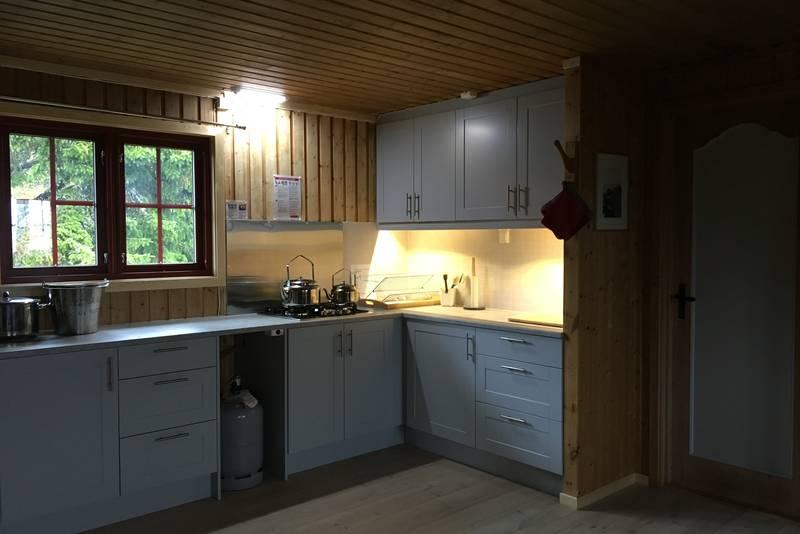 Kjøkkenet på Djupslia, nytt i 2017