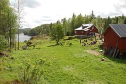 Fra åpningen av Bøvelstad - Foto: DNT Oslo og Omegn