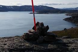 Fra Mollstrandfjellet -  Foto: Johan Grell